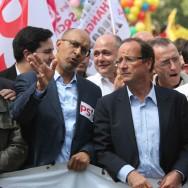 Les politiques au défilé du 1er mai 2011 à Paris