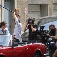 Tournage du film « Les Infidèles » avec Jean Dujardin et Gilles Lellouche