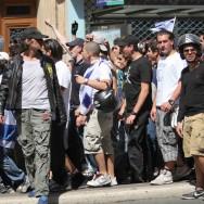 Manifestation de soutien à Israël devant l'Hôtel de Ville de Paris