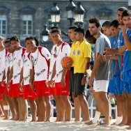Beach Soccer : Tiki Toa rencontre l'US Créteil Lusitanos sur le parvis de la mairie de Paris