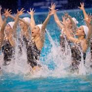 Open « Make Up For Ever » 2012 de natation synchronisée de Montreuil