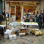 Lendemain de Yom Kippour rue des Rosiers, à Paris