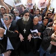 Manifestation à Paris de soutien aux coptes d'Egypte
