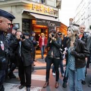 Tristane Banon manifeste contre les violences faites aux femmes