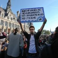 Les « indignés » marchent sur Paris
