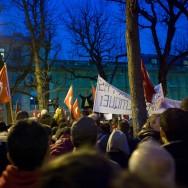 Génocide arménien: la communauté turque très remontée manifeste devant l'Assemblée nationale