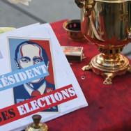Nouvelle manifestation contre Vladimir Poutine à Paris