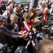 Eva Joly et Corinne Lepage réunies contre le gaz de schiste en Seine et Marne