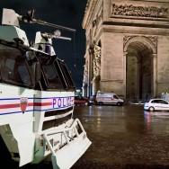 Paris fête la nouvelle année 2012 sous haute sécurité