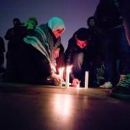 Commémoration à Paris du troisième anniversaire de la guerre de Gaza