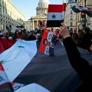 Manifestation pro-Assad à Paris