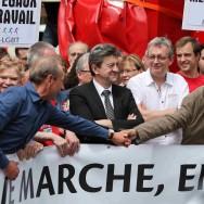Les politiques ouvrent la marche des fiertés 2011 à Paris