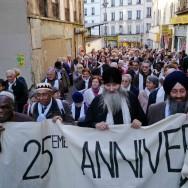 Une marche interreligieuse pour la paix, dans Paris