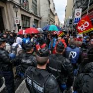 Paris : nouvelle manifestation de surveillants de prison