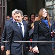 Présidentielle : le couple Sarkozy se rend aux urnes, à Paris