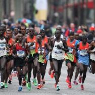 Le Kenian Stanley Biwott et l'Ethiopienne Tirfi Beyene remportent le 36ème marathon de Paris