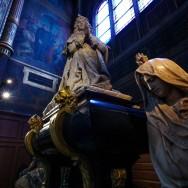 Le tombeau de Colbert en l'église Saint-Eustache
