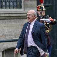 Michel Sapin, ministre du Travail, de l'Emploi et du Dialogue social
