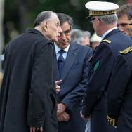 L'amiral Philippe de Gaulle assiste à l'hommage rendu à son père par Nicolas Sarkozy