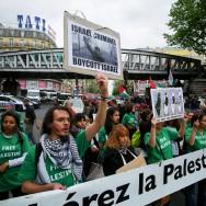 Une marche pour commémorer la Nakba Palestinienne à Paris