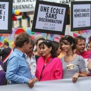 Ministres et artistes sur les rangs à la Marche des Fiertés de Paris