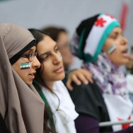 Rassemblement de soutien à la révolution syrienne