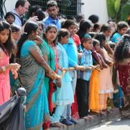 Début des fêtes du Dieu Ganesh à Choisy le Roi
