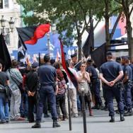 Libération de Paris : des militants libertaires et anarchistes interpellés par la police