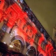 La Gare de Lyon illuminée pour l'arrivée du TGV Lyria