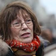 Jane Birkin venue assister à la manifestation de soutien au « mariage pour tous »