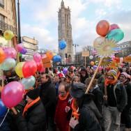 13ème Marche des maladies rares dans le centre de Paris