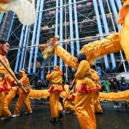 Nouvel an chinois : l'année du serpent commence