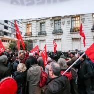 Mobilisation de la gauche française contre la répression en Russie