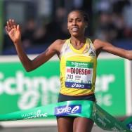 L'Ethiopienne Boru Tadese s'impose au marathon de Paris en 2h05'38''