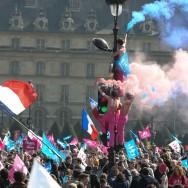 Manif pour tous du 21 avril, à Paris