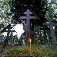 Pâques orthodoxe célébré au cimetière russe de Sainte-Geneviève-des-Bois