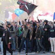 Violents affrontements en marge de la manif pour tous
