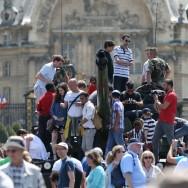 Les Parisiens et les franciliens accueillent leurs soldats