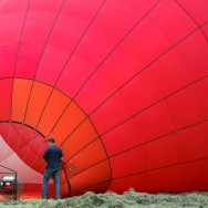 L'envol des montgolfières