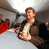 Jean-Luc Mélenchon en dissident à la fête de l'Huma