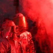 Fête de l'Humanité : les salariés de Florange embrasent La Courneuve