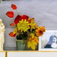 Le jardin du couvent des Sœurs de l'Adoration