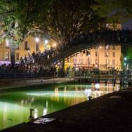 Nuit Blanche 2013 à Paris : la fosse d'orchestre de l'écluse des Récollets