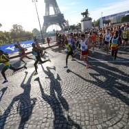23 865 coureurs disputent les 20 km de Paris