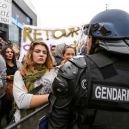 Paris : nouvelle manifestation de lycéens pour le retour de Leonarda