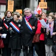 Paris : manifestation contre la prostitution et les violences aux femmes