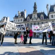 """Pour le 11 novembre, les """"Tondus"""" demandent la démission de François Hollande"""