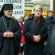 Paris : l'ex-Président Viktor Iouchtchenko commémore les 80 ans de la famine en Ukraine