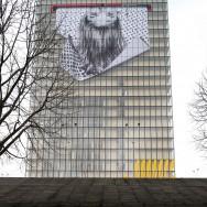 Paris : JR à l'assaut de la Bibliothèque nationale de France