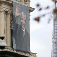 Mandela : hommage au Quai d'Orsay, à Paris